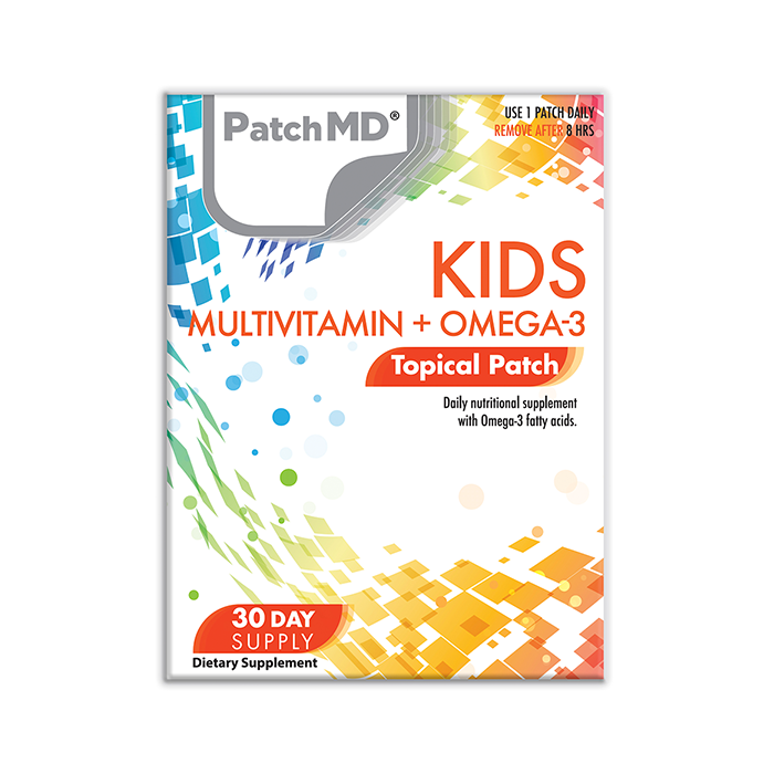 Kids MultiVitamin Plus (Topical Patch 30 Day Supply) - 30 Patches