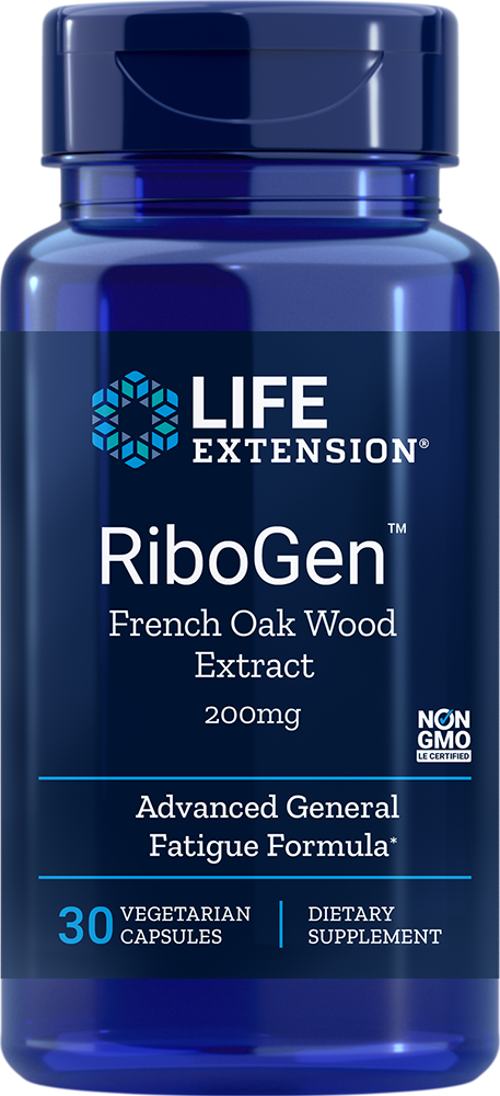 Ribogen French Oak Wood Extract 200mg - 30 Capsules