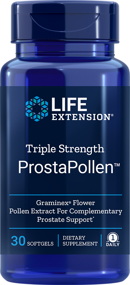Triple Strength ProstaPollen - 30 Softgels