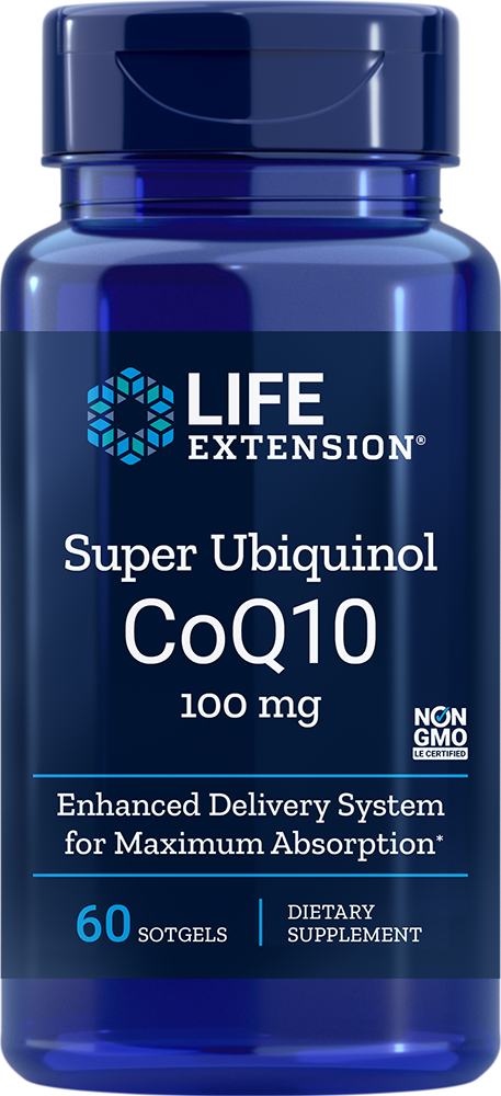 Super Ubiquinol CoQ10 100mg - 60 Softgels