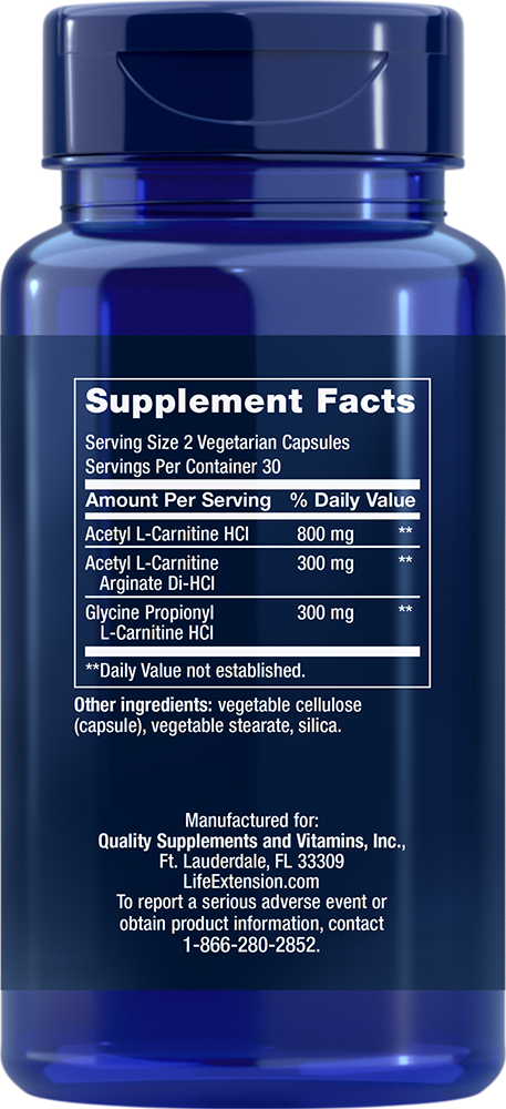 Optimized Carnitine - 60 Capsules