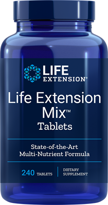 Life Extension Mix Tablets - 240 Tablets