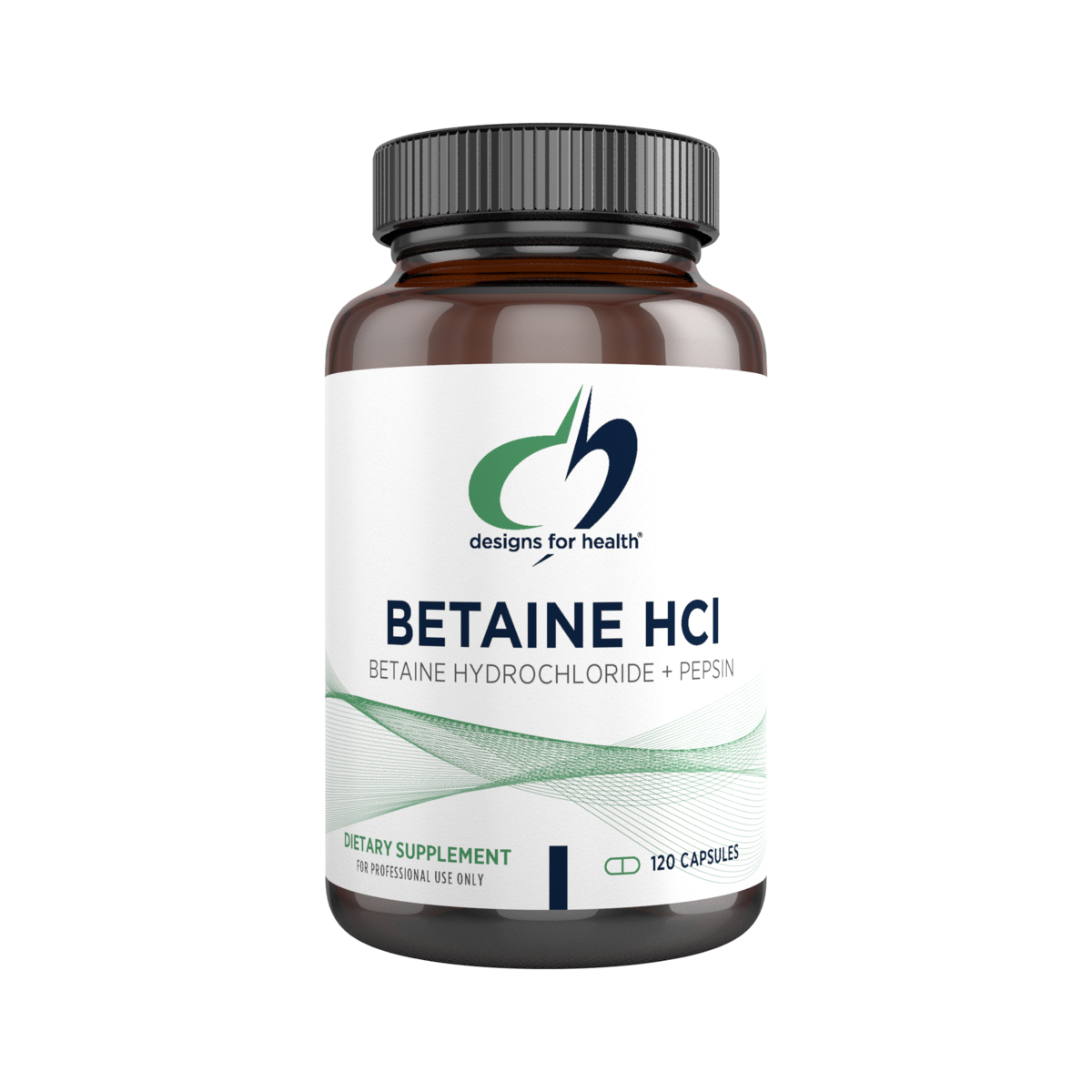 Betaine HCI with Pepsin 750mg - 120 Capsules