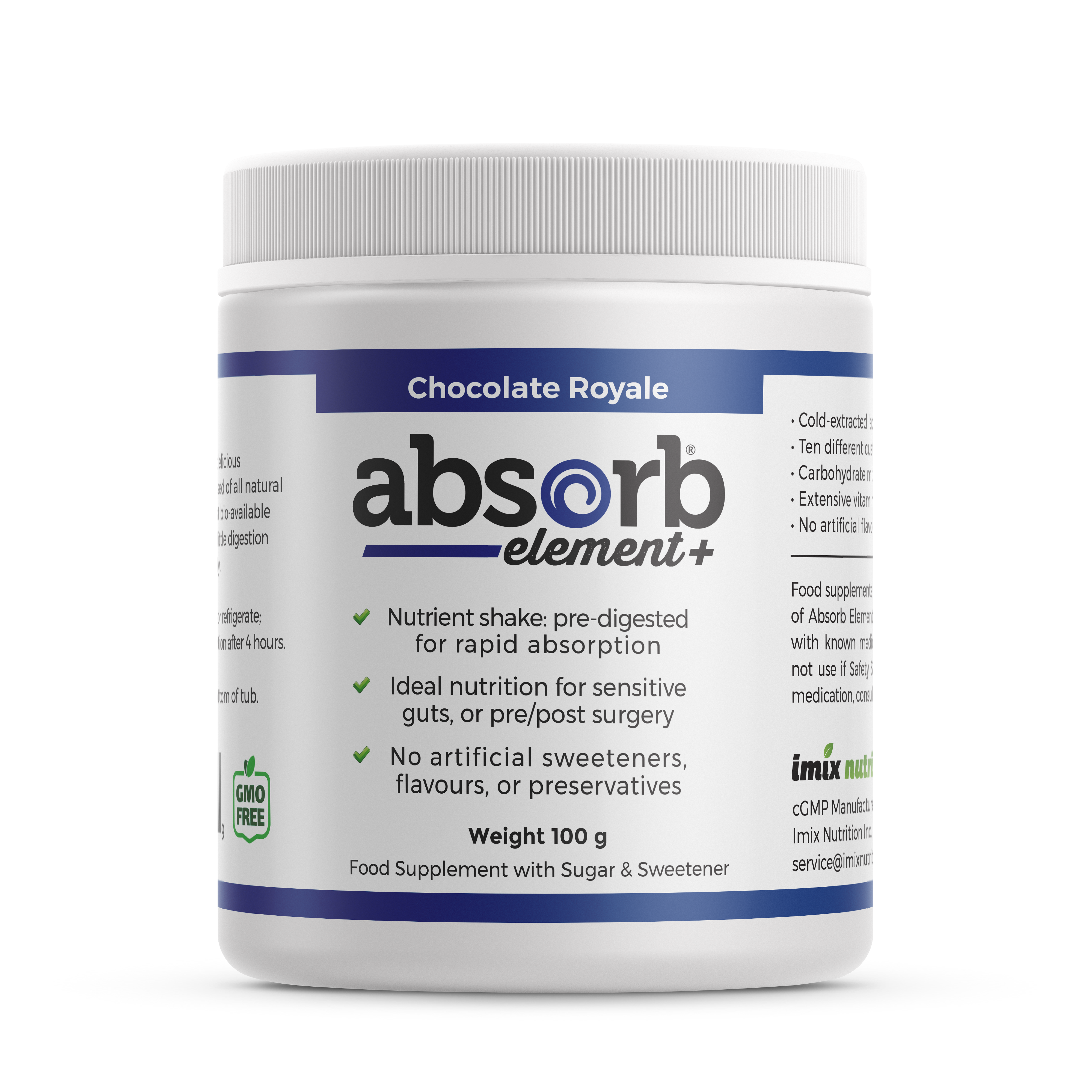 Absorb Element+ Chocolate Royale - 100g (Sample Size)