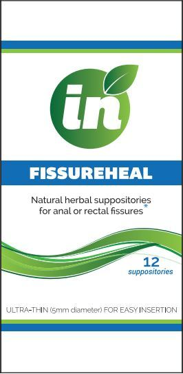 FissureHeal Suppositories – Box of 12