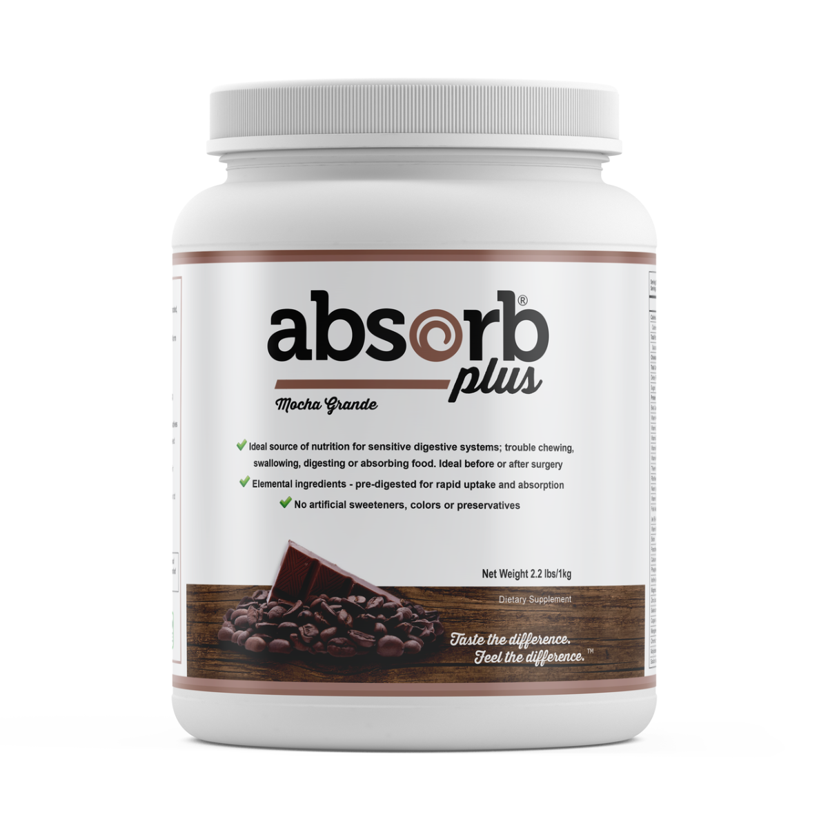 Absorb Plus Mocha Grande - 1kg