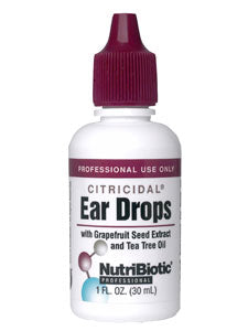 Ear Drops with GSE & Tea Tree Oil - 30ml