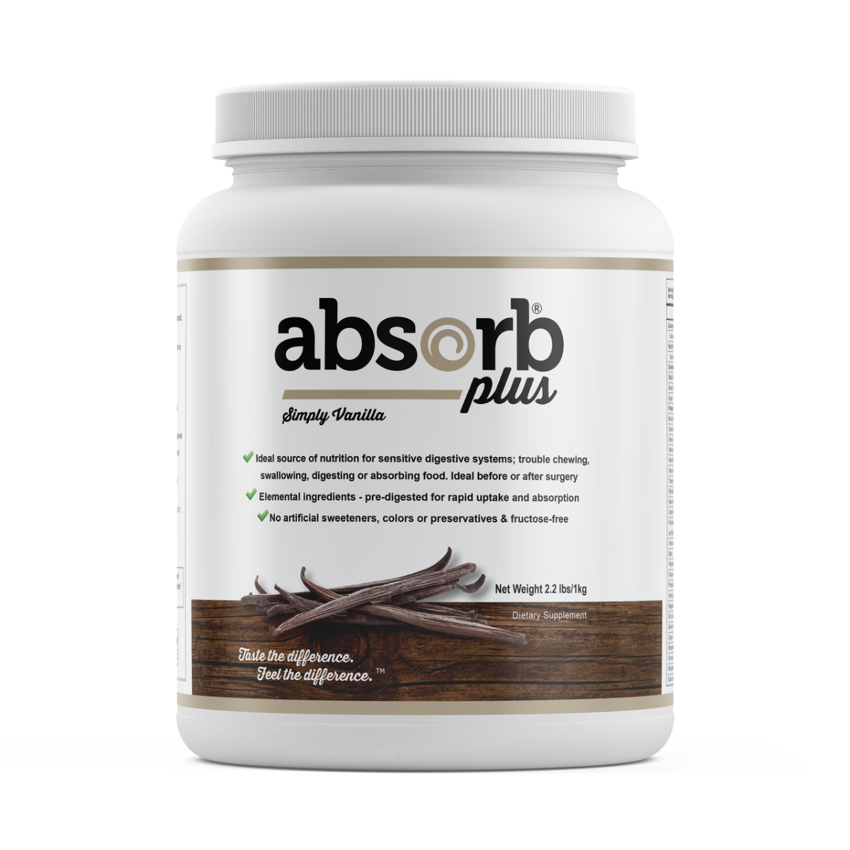 Absorb Plus Simply Vanilla - 1kg