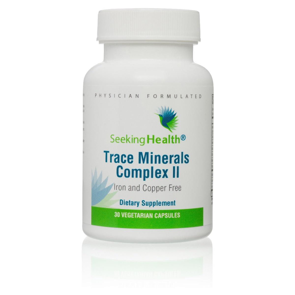 Trace Minerals Complex II Iron and Copper Free - 30 Capsules
