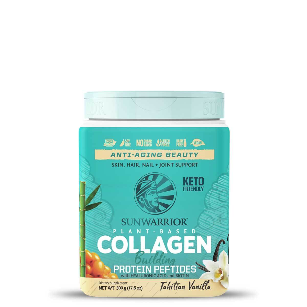 Collagen Plant Based Protein Peptides (Vanilla Flavour) - 500g