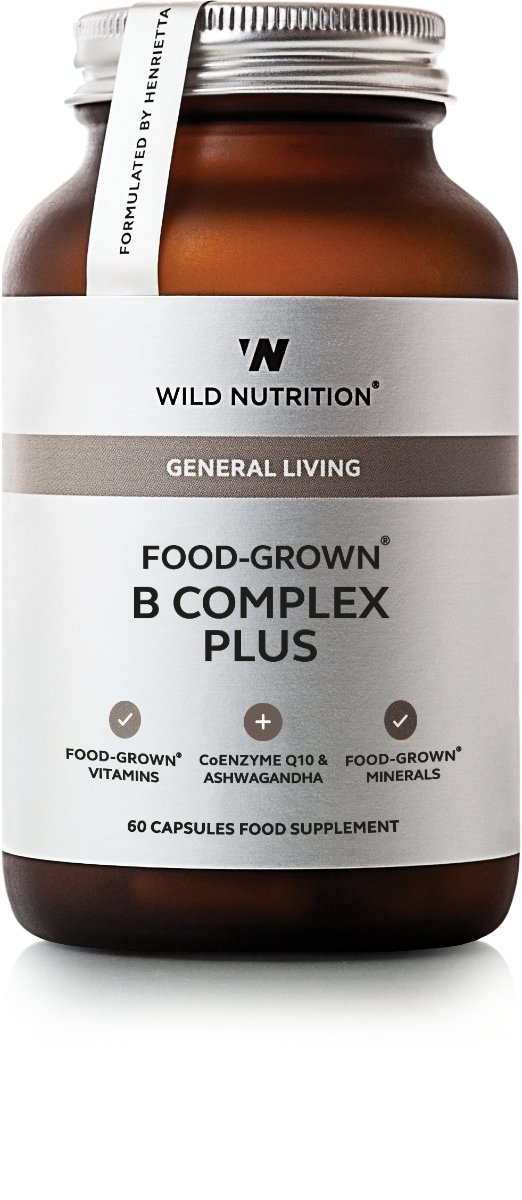 B Complex Plus (Food-Grown) - 60 Capsules