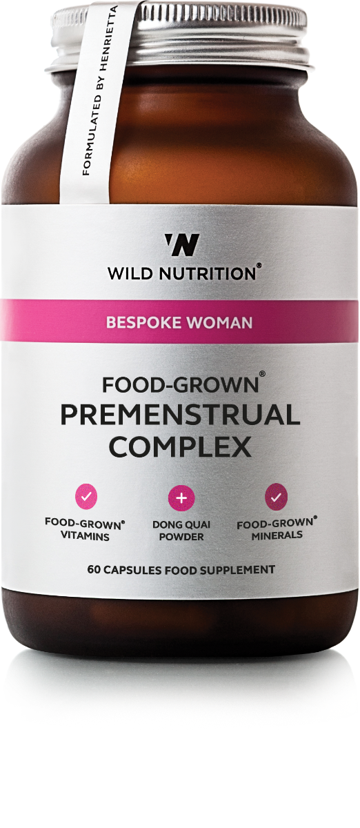 Women's Premenstrual Complex (Food-Grown) - 60 Capsules