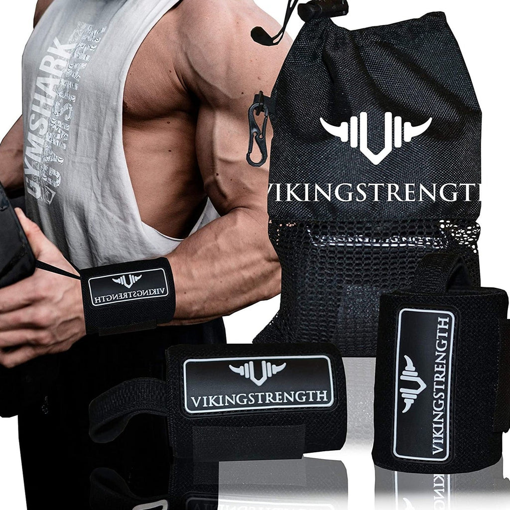 Wrist Brace Support for Weight lifting, Crossfit, Bodybuilding and Fitness