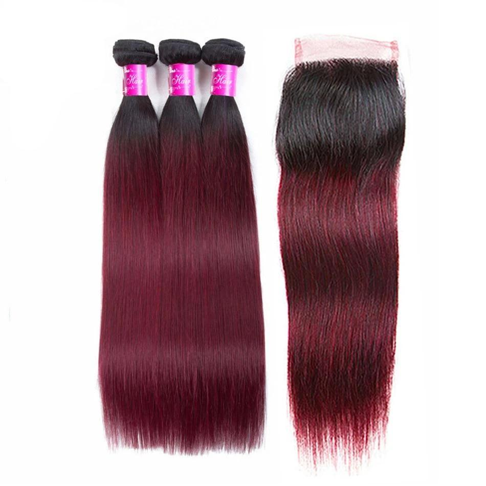 Extension cheveux : Ariel Ombre Bordeaux