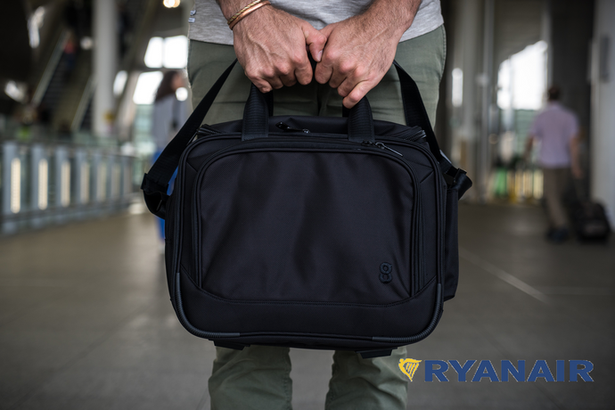 Ryanair have a new hand baggage policy. Shall we make a new bag?