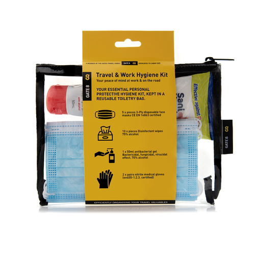 Build your own Work & Travel Hygiene Kit (select items to build your kit)