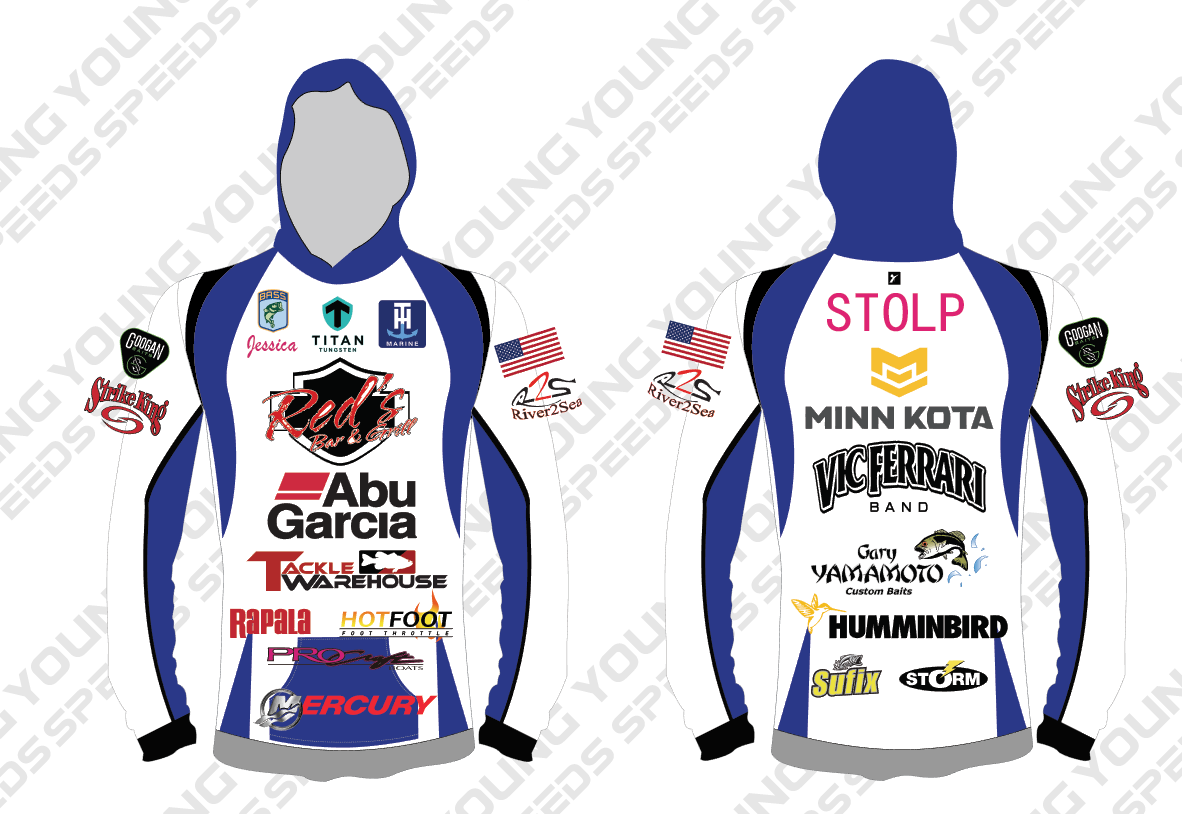 Copy of Custom Fishing Jersey-Laike Miller - YoungSpeeds