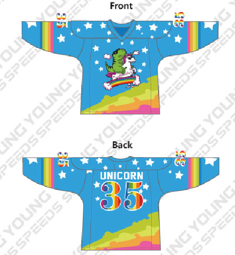 Christma Youth Hockey Jerseys-Vera Sanina - YoungSpeeds