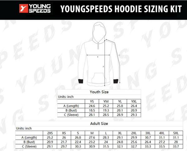 Carter Woodall's Custom Fishing jersey and hoody - YoungSpeeds