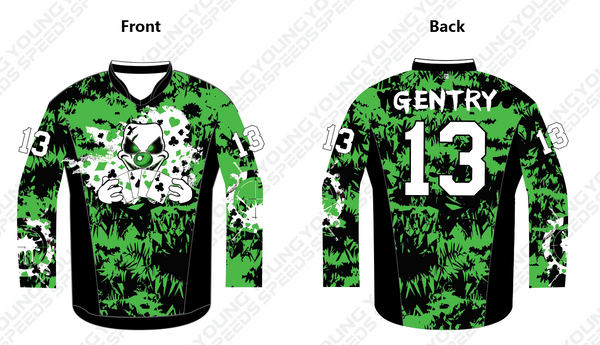 Custom Paintball Jersey-Ray Gentry - YoungSpeeds