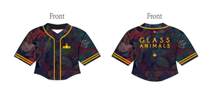 Custom Glass Animals ZABA Crop Baseball Jersey - YoungSpeeds