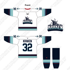 Team Kraken Custom Hockey Uniforms - YoungSpeeds