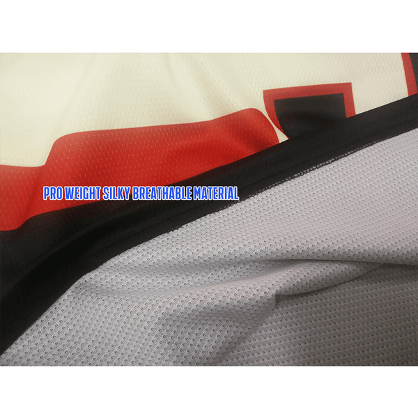 Edmonton Oilers 1974 Custom Sublimated Blank Hockey Uniforms - YoungSpeeds