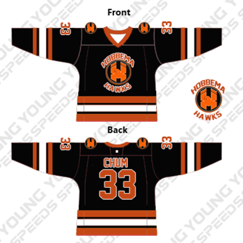 Custom Hockey Jerseys-Darwyn Chum - YoungSpeeds