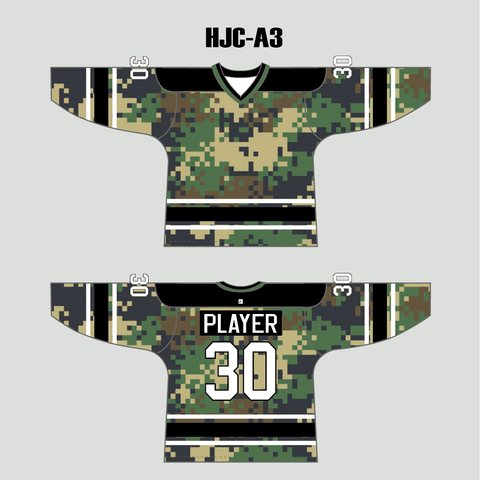 Hexagon Pattern Custom Sublimation Long Sleeve Archery Jersey - YoungSpeeds