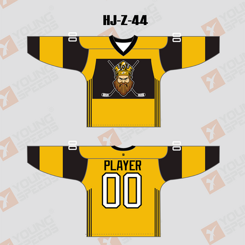King Sublimated Custom Hockey Jersey/Goalie Cut - YoungSpeeds