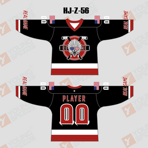 Real Game Sublimated Custom Ice Roller Inline Hockey Jerseys - YoungSpeeds