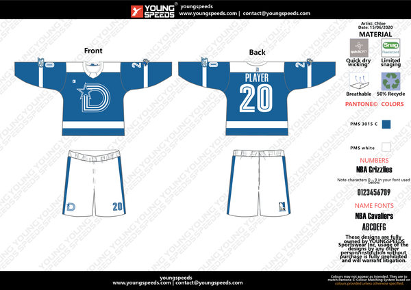 DALLAS BOX LACROSSE ORDER 2020-0001 - YoungSpeeds