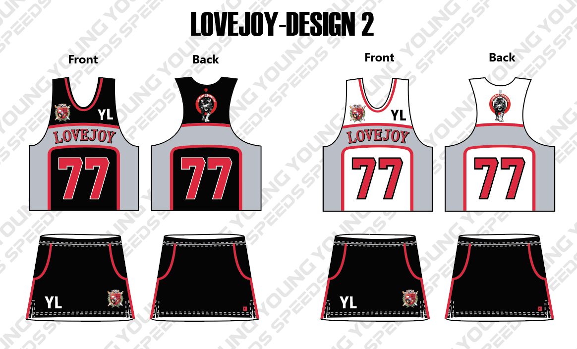 LoveJoy Lacrosse Uniform - YoungSpeeds
