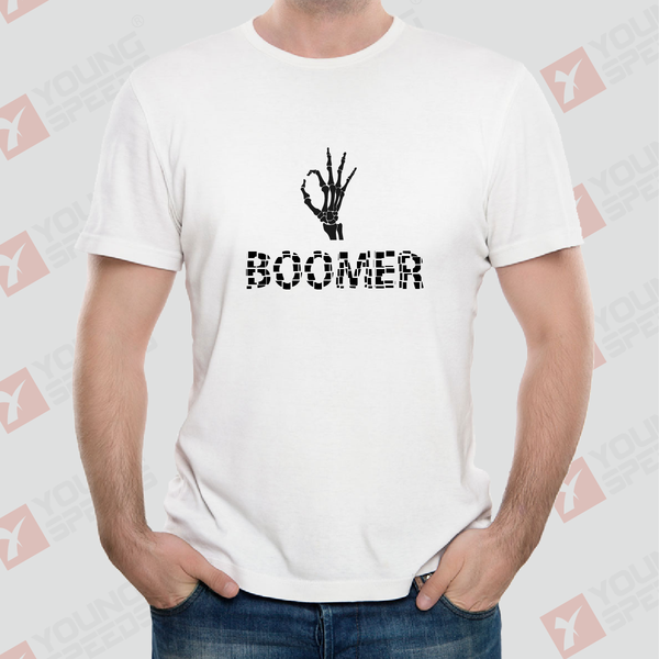 Original Sull Hand OK BOOMER Unisex T-Shirts Made in USA - YoungSpeeds