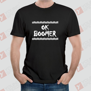 Original Simple OK BOOMER Unisex T-Shirts Made in USA - YoungSpeeds