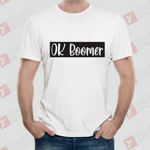 Original Gentleman OK BOOMER Unisex T-Shirts Made in USA - YoungSpeeds