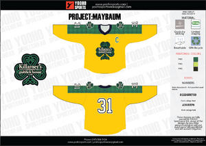 Cusotm Sublimated Hockey Jersey - Andrew Maybaum - YoungSpeeds