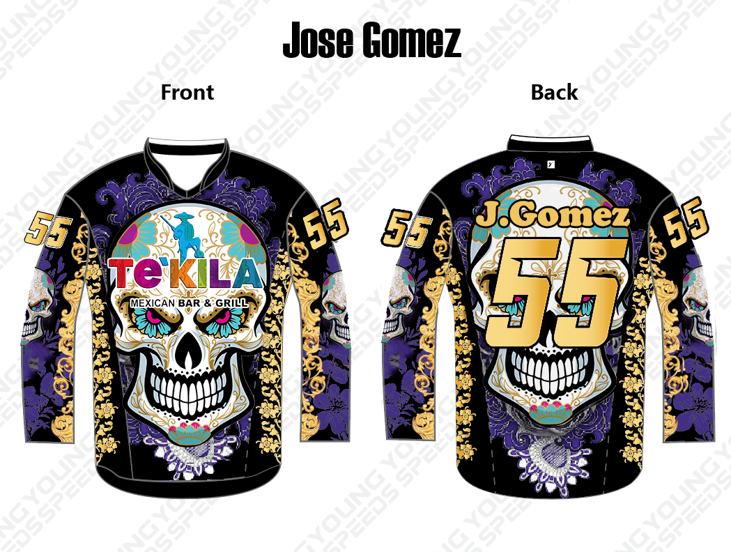 Jose Gomez's Cool Paintball jersey - YoungSpeeds