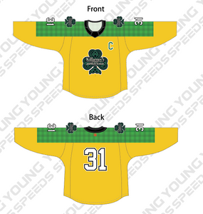 Clover Custom Sublimated Hockey Jersey - Andy Maybaum - YoungSpeeds