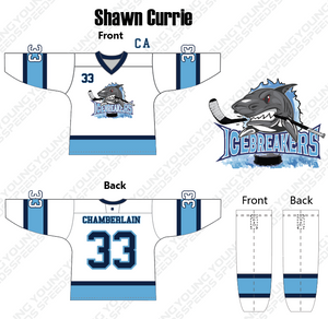 Icebreaker Custom Hockey Jerseys - YoungSpeeds