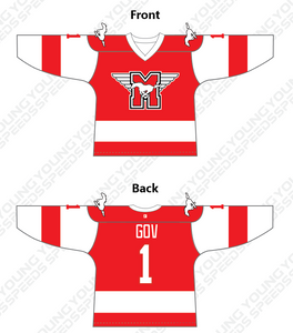Custom Youngblood Hockey Goalie Jersey - YoungSpeeds