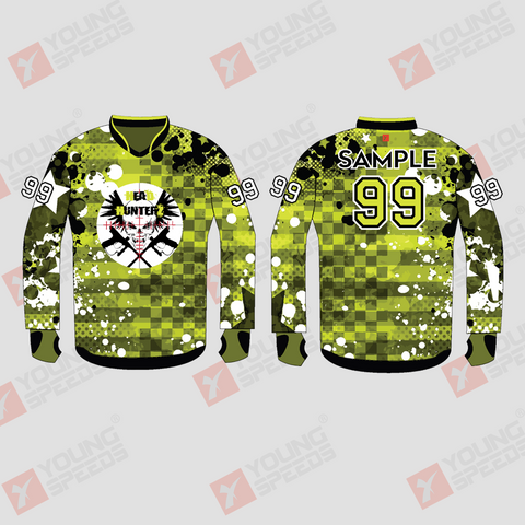 Head Hunters Custom Sublimated Paintball Jerseys - YoungSpeeds