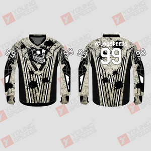 Camo Custom Sublimated Paintball Jerseys - YoungSpeeds