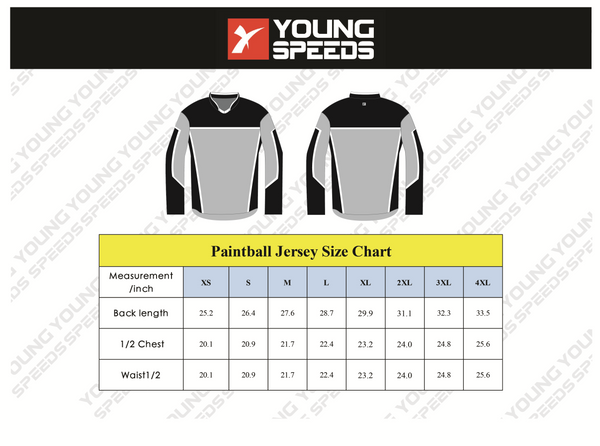 Poker Custom Sublimated Paintball Jerseys - YoungSpeeds
