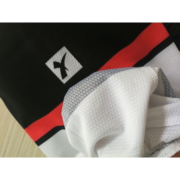 Sublimated Custom Black Hockey Socks - YoungSpeeds