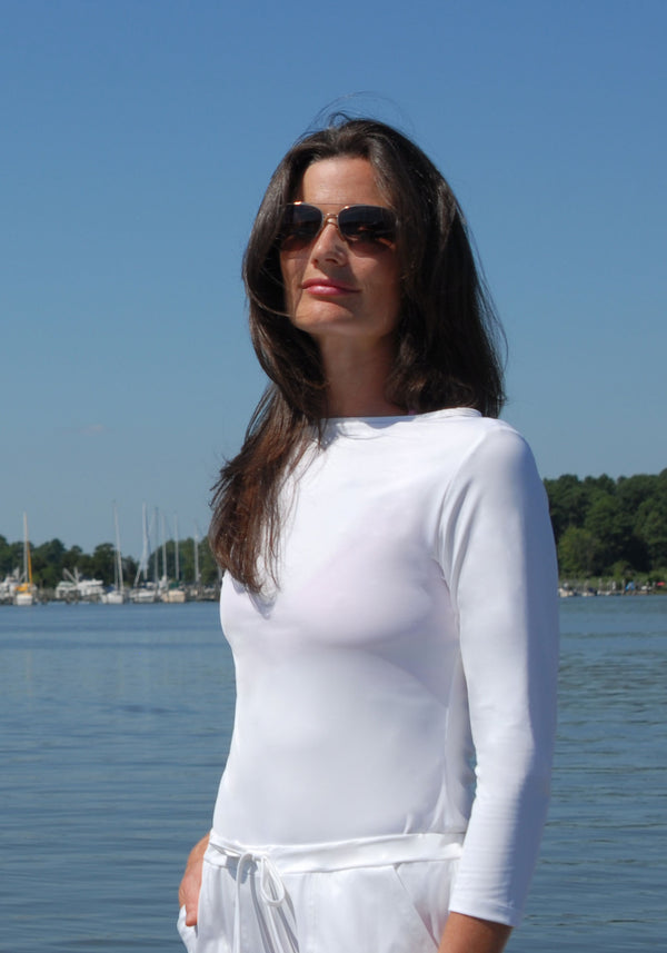 Hamptons Boat Neck Shirt - Luminora