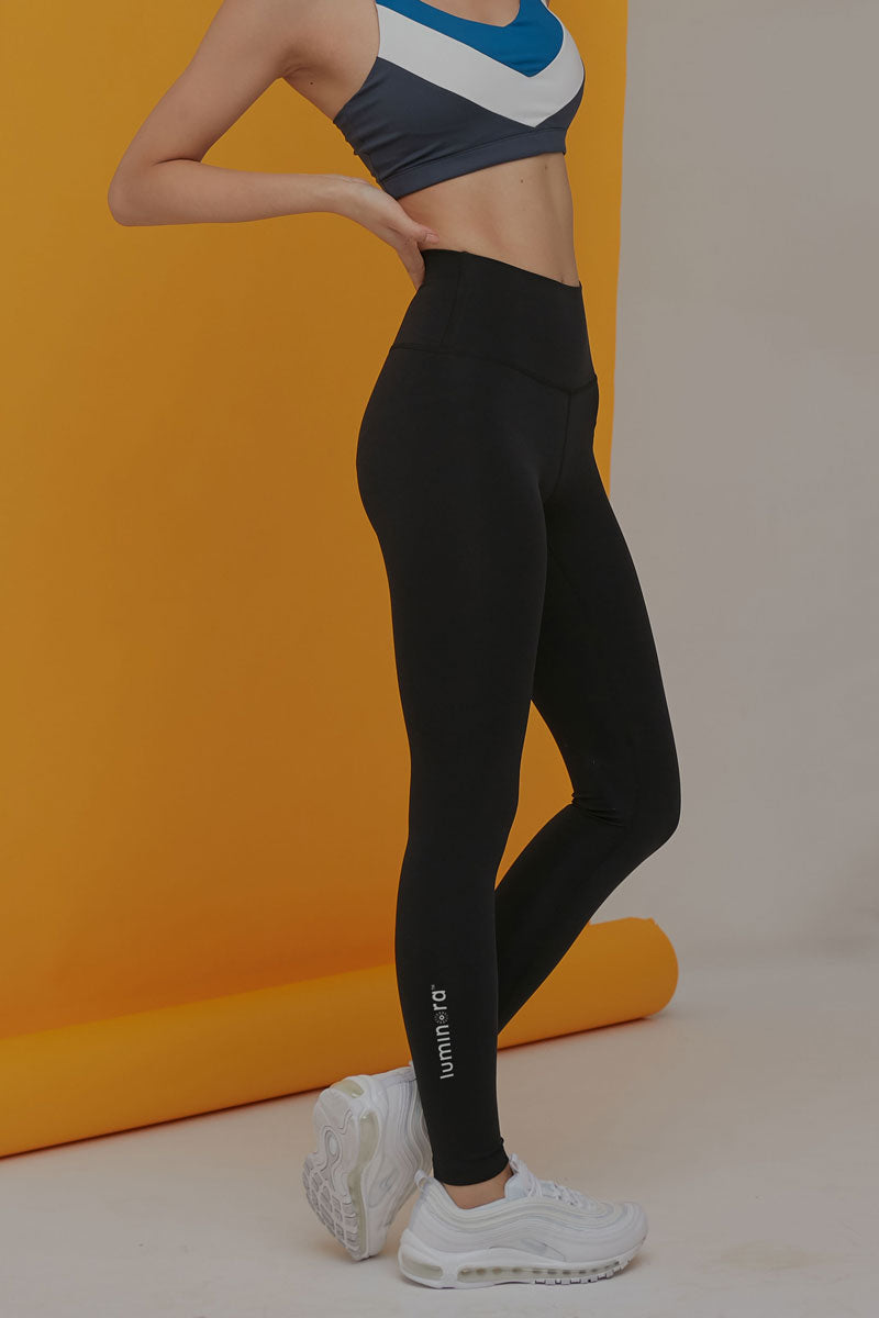 Basic High Rise Leggings - Luminora