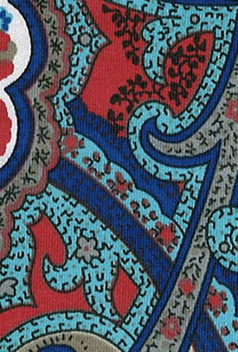 Knit UPF Fabric - Paisley - Luminora