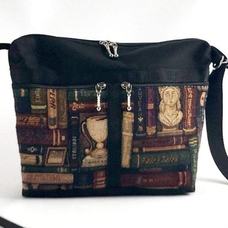 221L Vintage Tapestry Fabric Small Organizer Purse