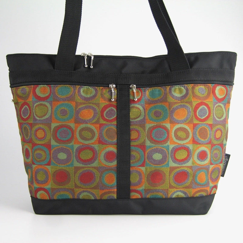224  Extra Large French Satchel Tote